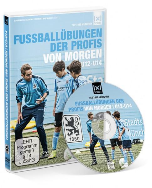 Fußballübungen der Profis von morgen U12 - U14 (DVD)