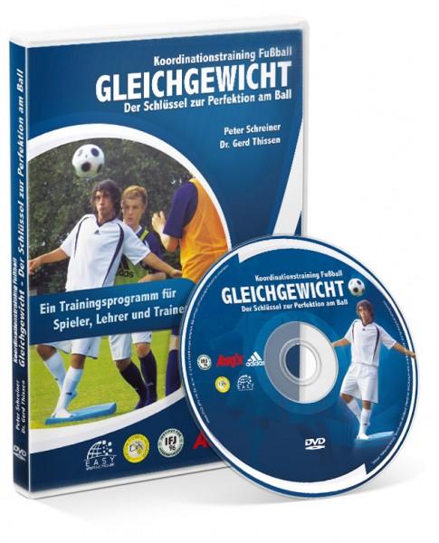Koordination Fußball - Gleichgewicht - Schlüssel zu Perfektion am Ball (DVD)