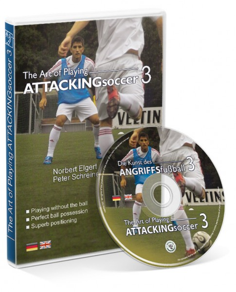 The Art of Playing Attacking Soccer - Part 3 with U19 FC Schalke 04 (DVD)