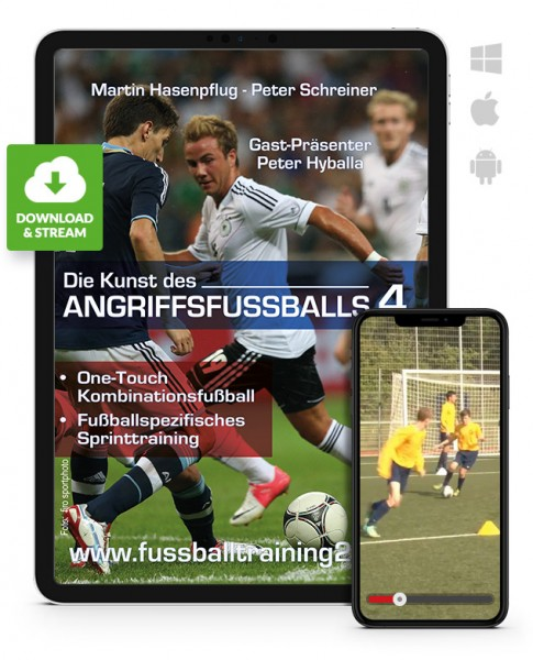 Die Kunst des Angriffsfußballs - Teil 4 (Download)