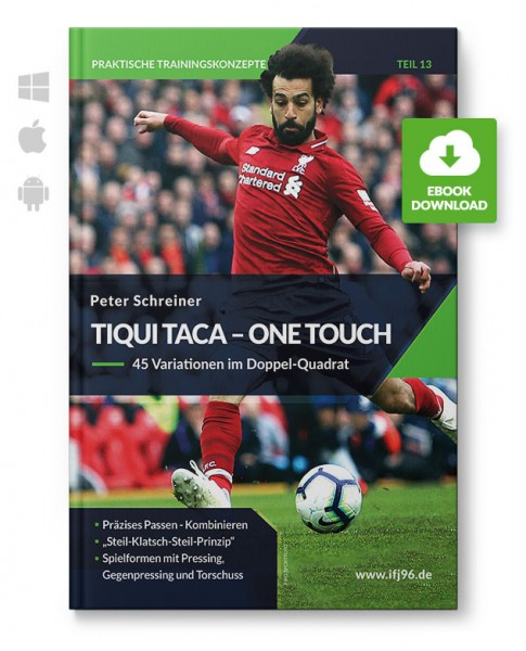 Tiqui Taca - One Touch - 45 Variationen im Doppel-Quadrat (eBook)