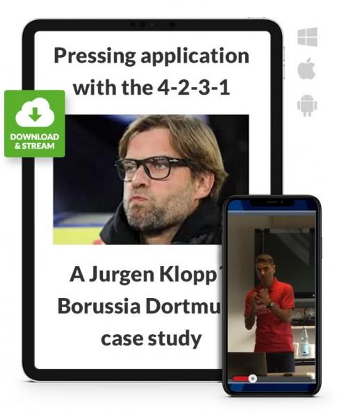 Pressing with 4-2-3-1 (Jurgen Klopp case study) (Download)