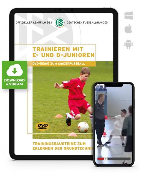 Trainieren mit E- und D-Junioren (Download)