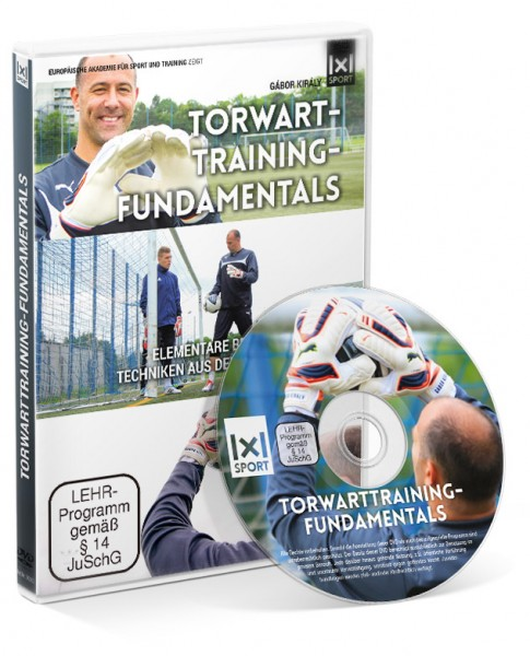 Torwarttraining-Fundamentals mit Gábor Király (DVD)