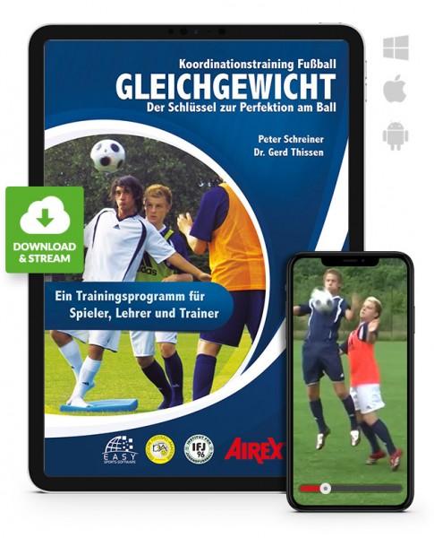 Koordination Fußball - Gleichgewicht (Download)