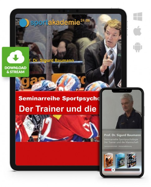 Sportpsychologie 3 - Der Trainer und die Mannschaft (Download)
