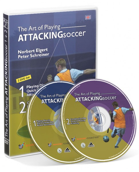 The Art of Playing Attacking Soccer (DVD)