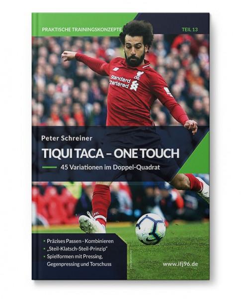 Tiqui Taca - One Touch - 45 Variationen im Doppel-Quadrat (Heft)
