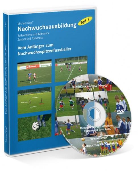 Fußball-Nachwuchsausbildung - Teil 1: Vom Anfänger zum Spitzenfußballer (DVD)