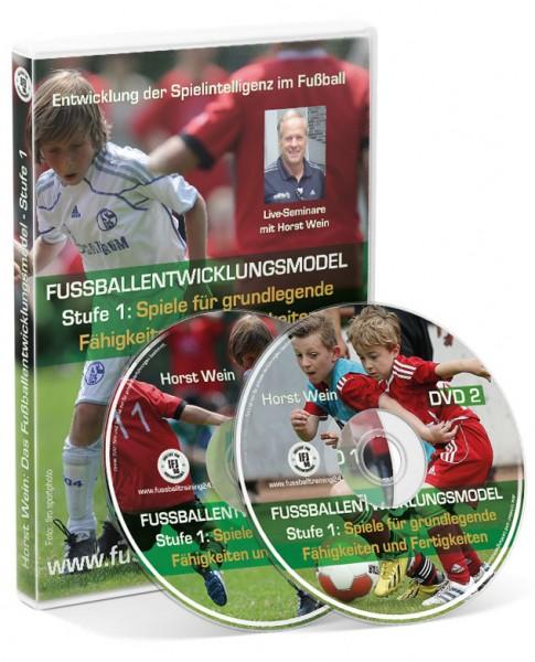 Das Fußballentwicklungsmodell - Stufe 1 (Doppel-DVD)