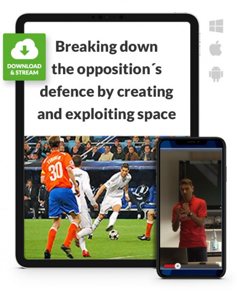 Creating and exploiting space (4-2-3-1 against 4-4-2 / 4-2-3-1) (Download)