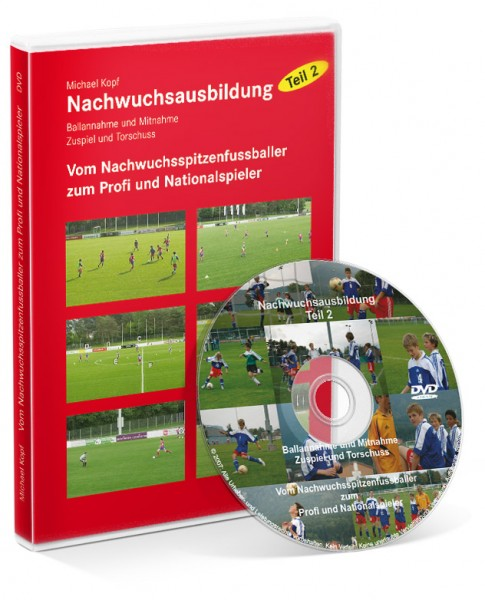 Fußball-Nachwuchsausbildung - Teil 2: Vom Spitzenfußballer zum Profi (DVD)