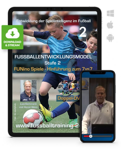 Fußball-Entwicklungsmodell Stufe 2 - Seminar 2 (Download)