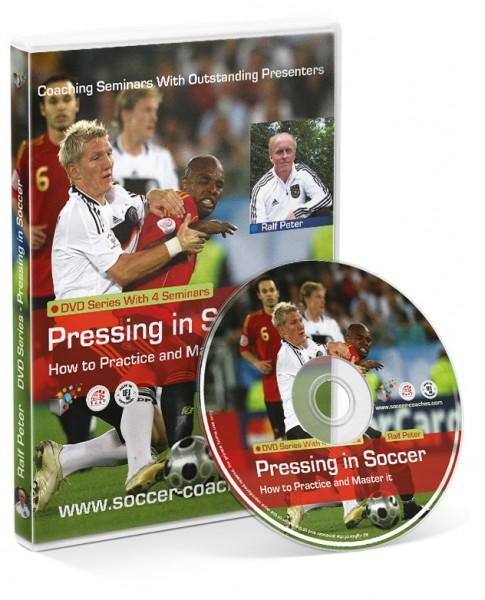 Pressing in Soccer (Seminar 1-4) with Ralf Peter (DVD)