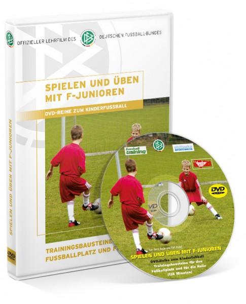 Spielen u. Üben mit F-Junioren (DVD)