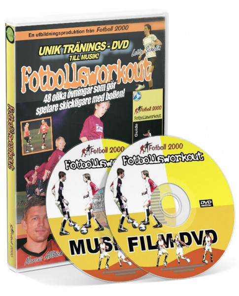 Fotbollsworkout (DVD/Musik CD)