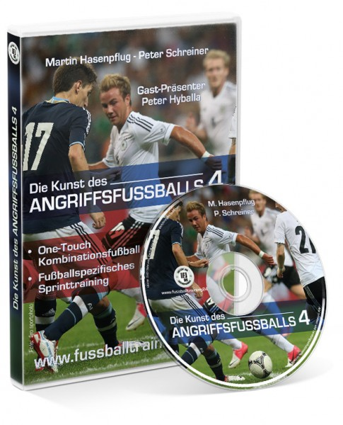 Die Kunst des Angriffsfußballs - Teil 4 (DVD)