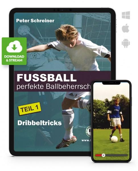 FUSSBALL - perfekte Ballbeherrschung - Teil 1 - Dribbeltricks (Download)