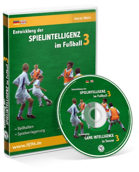 Die Entwicklung der Spielintelligenz im Fußball - Teil 3 (DVD)
