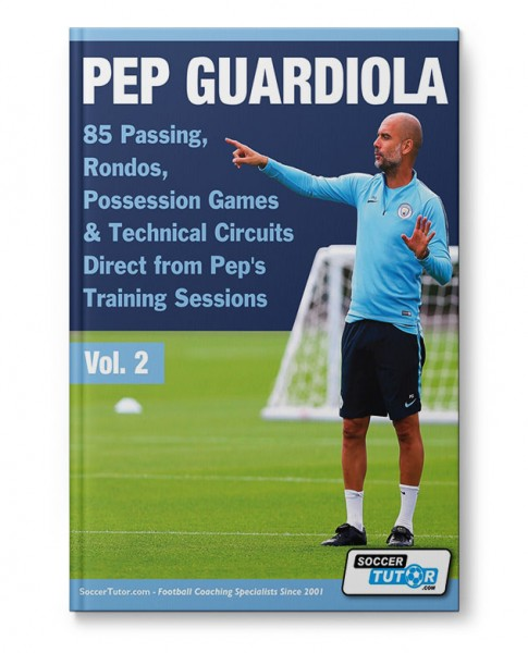 Pep Guardiola - Vol. 2 - 85 Passing, Rondos, Possession Games & Technical Circuits Direct (Book)