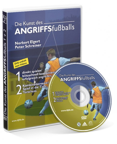 Die Kunst des Angriffsfußballs - Teil 1+2 (DVD)