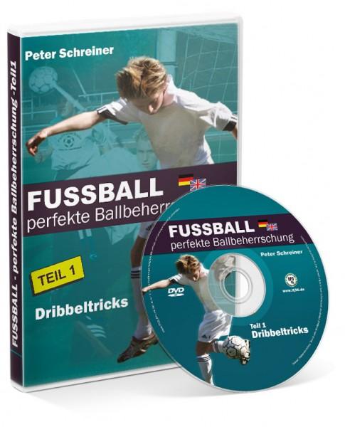 FUSSBALL - perfekte Ballbeherrschung - Teil 1 - Dribbeltricks (DVD)