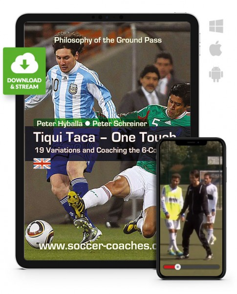 Tiqui Taca – One Touch – 19 Variations in the 6-Cone-Drill (Download)